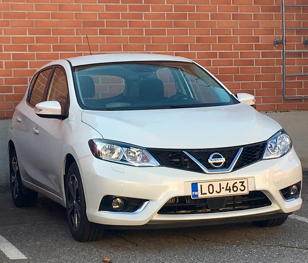 Esittelyauto Nissan Pulsar